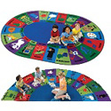 Click here for more Dewey Decimal Fun Rug by Carpets for Kids by Worthington