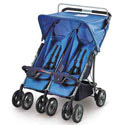 Double Side-by-Side Stroller by Foundations