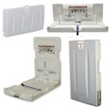 Click here for more Economy Series Wall Mounted Baby Changing Station by Foundations by Worthington