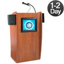 The Vision Sound Lectern w/ Digital Display by Oklahoma Sound