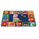 Click here for more Toddler Blocks KIDSoft Rugs by Carpets for Kids by Worthington