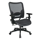 Click here for more Deluxe Dark AirGrid Seat and Back Managers Chair by Office Star by Worthington