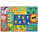 Click here for more Jungle Jam Counting Pixel Perfect Rug by Carpets for Kids by Worthington