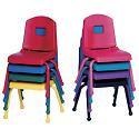 Creative Colors Mix and Match School Chairs by Mahar