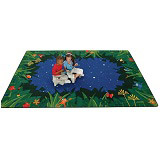 Peaceful Tropical Night Carpet by Carpets for Kids