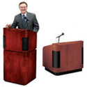 Click here for more 900 Series Wood Veneer Contemporary Tabletop Lectern & Base by Worthington