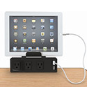 Clamp Mount Outlet & USB Charger by Mooreco