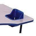 Click here for more Replacement Seats, Belts & Seat Hole Covers by Toddler Table by Worthington