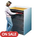 Giant Stacking Trays by SAFCO