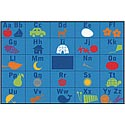 Alphabet Seating ValuePlus Rug by Carpets for Kids