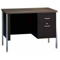Single Pedestal Desk by Sandusky Lee