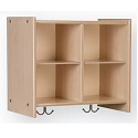 SmartChoice Cubby Wall Locker by Tot-Mate