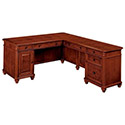 Click here for more Antigua Veneer Computer L-Desks by NDI Office Furniture by Worthington