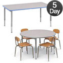 Click here for more Green Classroom Tables by Worthington