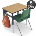 Single Planner School Desk by Smith System