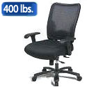 Click here for more Double AirGrid Big and Tall Chair by Office Star by Worthington