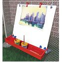 Single Hanging Fence Easel by Manta-Ray