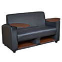 Click here for more Supernova Tablet Arm Loveseat by Regency Office Furniture by Worthington