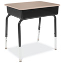 Click here for more 785M Solid Plastic Open Front Student Desks by Virco by Worthington