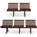 Click here for more 800 Series Straight Bench with Backs by UltraPlay by Worthington