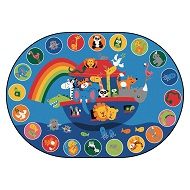 Noah's Voyage Circletime Rug by Carpets for Kids