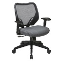 Click here for more Dark AirGrid Back and VeraFlex Seat Managers Chair by Office Star by Worthington