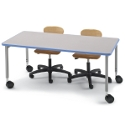 Non-Folding Planner Seminar Table by Smith System