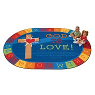 Click here for more Religious Rugs by Worthington