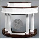 Click here for more 8300 Series Pulpit w/ Plexiglas Front by Trinity by Worthington