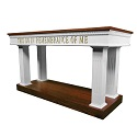 Click here for more 8400 Series Communion Tables by Trinity by Worthington