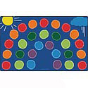 Click here for more Rainbow Seating Rug by Carpets for Kids by Worthington