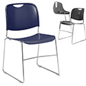 Compact Stack Chair by National Public Seating