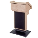 Click here for more The Keynote Solid Hardwood Lectern by Sound-Craft by Worthington