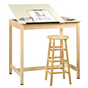 "Click here for more Drawing Tables (42"" W) by Diversified Woodcrafts by Worthington"
