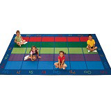 Click here for more Colorful Places Seating Rug by Carpets for Kids by Worthington