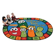 God Made You Special Veggietales Rug by Carpets for Kids
