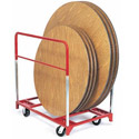3700 Round Folding Table Trucks by Raymond Products