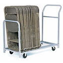 Folded or Stacked Chair Caddies By Raymond Products