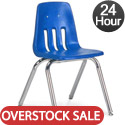 Overstock Sale- Virco Cobalt Blue 9000 Series School Chairs