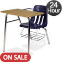 Virco 9400BR Combo School Desk Ships in 24 Hours