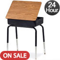 Virco 751 Lift Lid Desk : 24 Hour Quick Ship