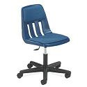 Height Adjustable Padded Lab Chair by Virco