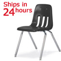 Virco School Chairs : 24 Hour Ship 9018 Black