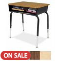Click here for more 785 Series Open Front Desk by Virco by Worthington