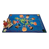 Click here for more Great Commission Rug by Carpets for Kids by Worthington