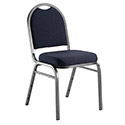 Click here for more Padded Deluxe Round Back Stack Chair by National Public Seating by Worthington