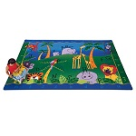 Click here for more Alphabet Jungle Carpet by Carpets for Kids by Worthington