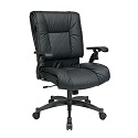 Click here for more Black Eco Leather Conference Chair by Office Star by Worthington