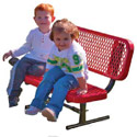 Portable Preschool Outdoor Bench by UltraPlay