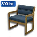 Dakota Wave Bariatric Seating by Wooden Mallet